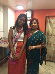 Immensely enjoyed Geeta's cooking and hospitality!